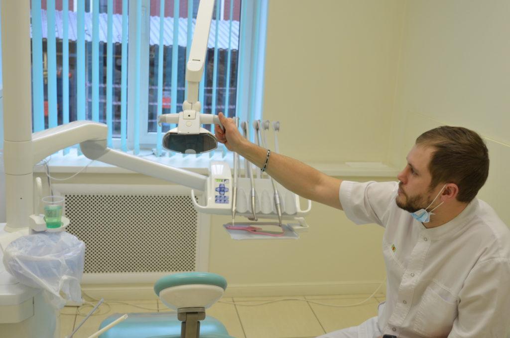 Лечение кариеса зуба
