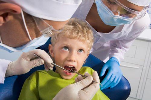 Лечение зубе детей (ребенка)